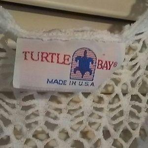 Turtle Bay Swim - TURTLE BEACH COVER-UP -Medium